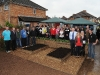 MP Jeremy Browne opens the refurbished gardens at the Link Centre - pic Geoff Hall